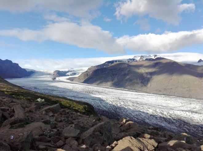 lengua de glaciar